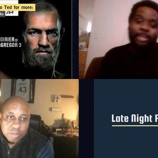 .@MisterB1986 joins @latenightparent to talk #UFC264 and #CombatSports.