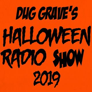 HALLOWEEN RADIO LIVE 2019 KCBP 95.5 FM WITH DUG GRAVES Full Show