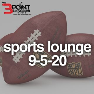 The 3 Point Conversion Sports Lounge - NFL is Back,  How Good Are The Heat, MLB Heating Up, Fantasy Football Tips