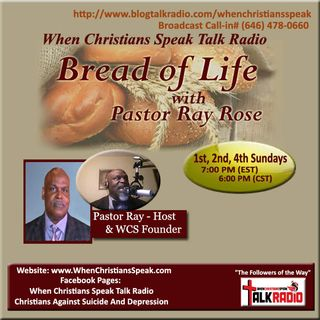 Bread of Life with Rev. Ray and Rev. Robyn White: GRACE !