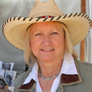 "Peggy Sundberg aka ""Cowgirl Peg"" / El Progreso Memorial Library"