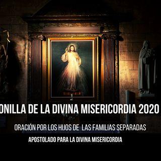 CORONILLA DIVINA MISERICORDIA POR LOS HIJOS DE LAS FAMILIAS SEPARADAS