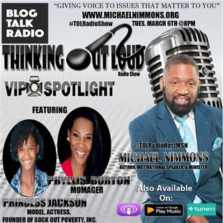 VIP Spotlight feat. Princess Jackson & Phyllis Burton of Sock Out Poverty, Inc.
