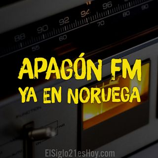 Apagón FM ya en Noruega