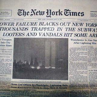40 años del Gran Apagón de Nueva York