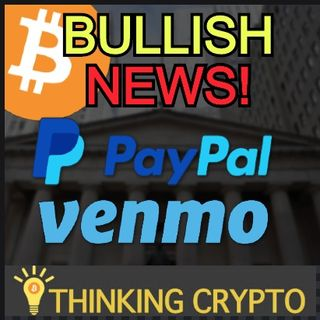 PayPal & Venmo To Offer BITCOIN & CRYPTO Trading to 325 Million Users!