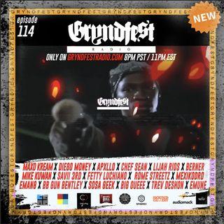 [7/22] #GryndfestRadio Ep.114 Special @realdjpremier Sample Mix W/ @cene.io @dinnerland