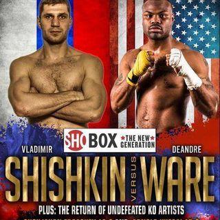 Vladimir Shishkin vs DeAndre Ware Commentary