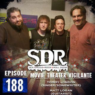 Tommy London & Matt Hogan (Singer & Guitarist) - Movie Theater Vigilante
