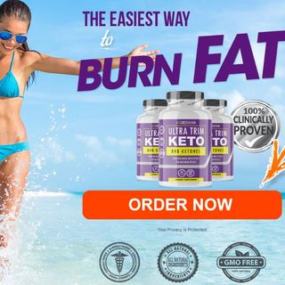 Ultra Trim Keto Reviews  Pills Burn Fat