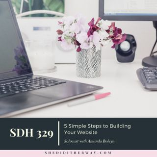 5 Simple Steps to Building Your Website