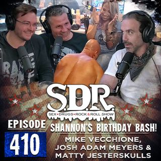 Mike Vecchione, Josh Adam Meyers And Matty Jesterskulls (Comedians And Host) - Shannon's Birthday Bash!