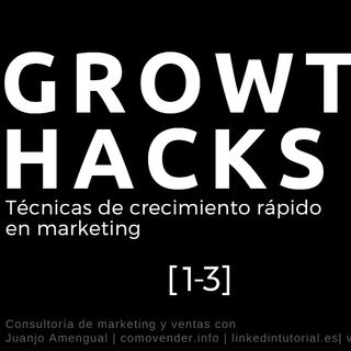 Técnicas de crecimiento rápido en marketing | Growthhhacking | 1