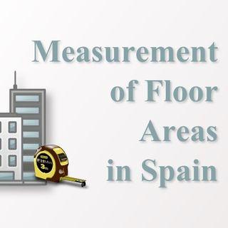 Floor Areas in Spanish Buildings