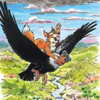 Cuento quechua: Fiesta en el cielo(El condor y el zorro)