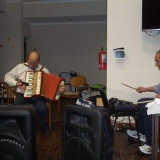 Presentación y apertura Músical en Hogar de Ancianos
