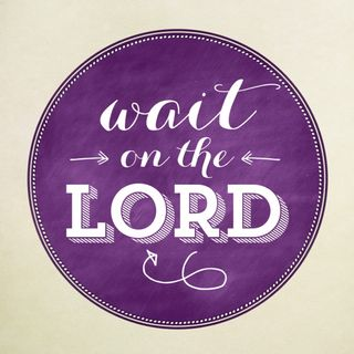 Wait on the Lord!!(super short)