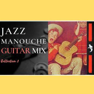 JAZZ MANOUCHE GUITAR Mix 1 | #music #manouche #guitar #acoustic