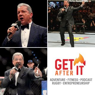 Episode 110 - with Bruce Buffer - The Veteran Voice of the Octagon!