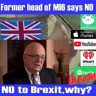 Morning moment Former MI6 chief tells MPs to vote down May's agreement Jan 10 2019