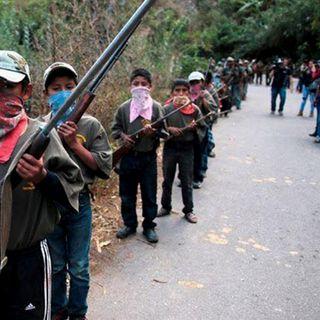 CNDH pide proteger derechos de menores autodefensas