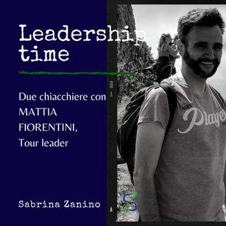 Due chiacchiere con Mattia Fiorentini, tour leader