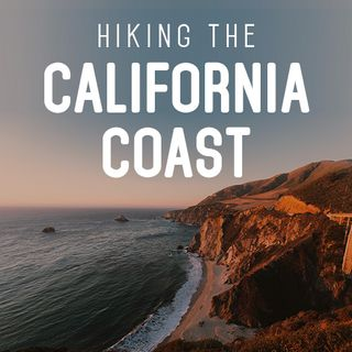 Hiking the California Coast with river sounds
