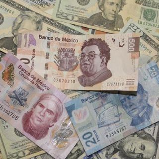 Peso mexicano tiene su peor día frente al dólar en casi dos meses