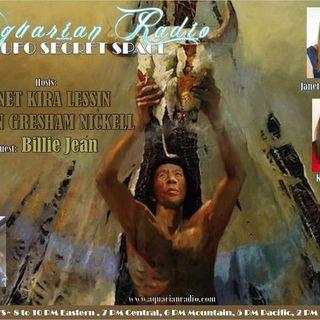 Billie Jean ~ 08/21/20 ~ UFO Secret Space ~ Hosts Janet Kira Lessin & Karen Gres