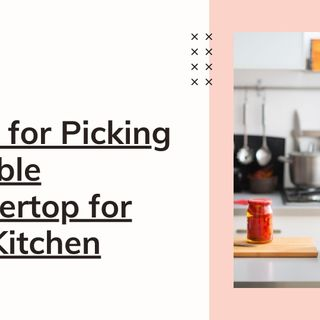 5 Tips for Picking a Marble Countertop for Your Kitchen