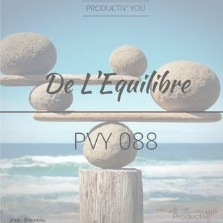 De l'Equilibre  - PVY 088