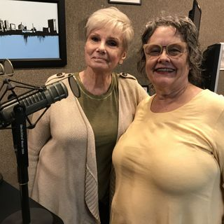 Barb and Fran from The Village Players