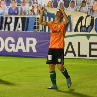 Gol de Banfield: Giuliano Galoppo 1-1
