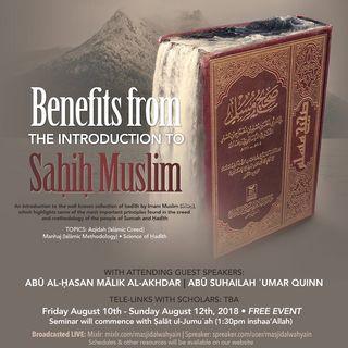 [Seminar]: Intro to Ṣaḥiḥ  Muslim