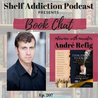 207: Interview with Audiobook Narrator Andre Refig | Book Chat