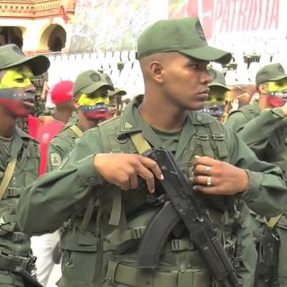 Cold War Radio - CWR#472 All Eyes On Venezuelan Military As Country Teeters,