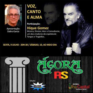 VOZ, CANTO E ALMA com Hique Gomez