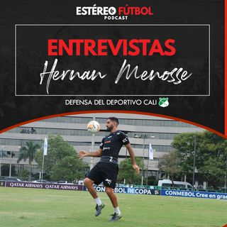 Entrevista Con Hernán Menosse