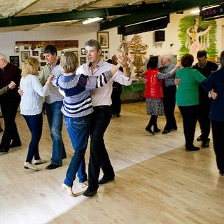Social dancing in Cappoquin for South East Radiotherapy Trust