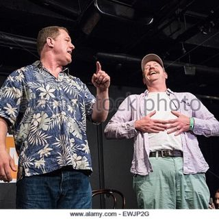 IAN ROBERTS and MATT WALSH of UPRIGHT CITIZENS BRIGADE