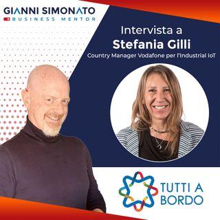 """#49 Gianni Simonato intervista Stefania Gilli Vodafone """"Come trovare i clienti con l'aiuto del Phygital ed essere sostenibili?"""""""
