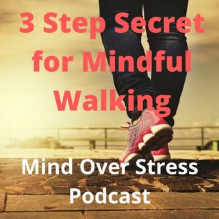 3 Step Secret for Mindful Walking