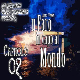 Audiolibro il Faro in capo al Mondo - Jules Verne - Capitolo 02