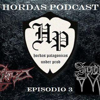 Hordas Podcast episodio Nº3