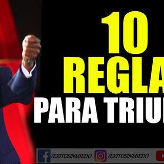 10 REGLAS para TRIUNFAR en la VIDA  Miguel Ángel Cornejo  Superación Personal
