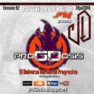 proGDosis 92 - 28jul2018 - Velvet Darkness