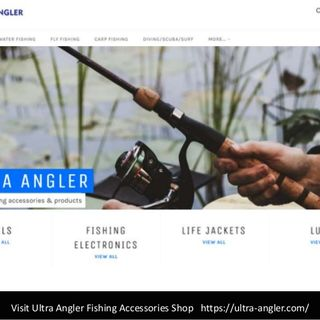 Ultra Angler - A great shop for Fishing, Rod, Reel, Lures, Tackle