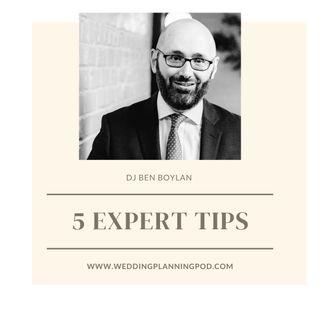 Wedding Advice from DJ Ben Boylan