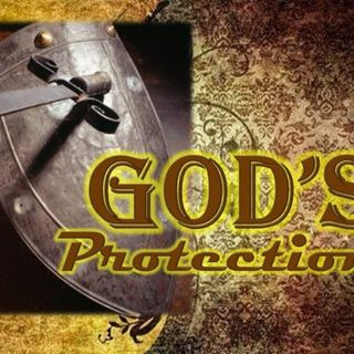 THE HEDGE OF PROTECTION COMES FROM GOD!