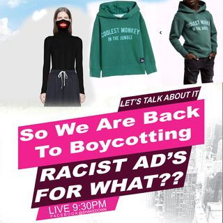 WHO REALLY CARE ABOUT RACIST AD'S ?(part 1)